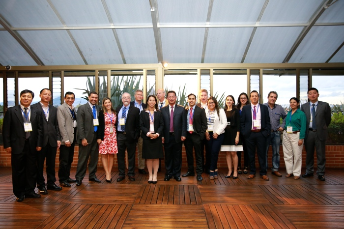 Coal Subcommittee Delegates at the Subcommittee meeting in Bogotá, Colombia